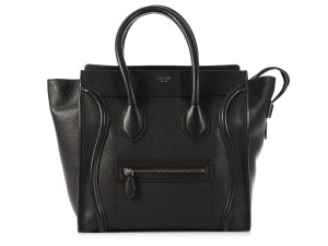 Céline Ce.k1014.06 Leather Small Top Handle Shw Tote