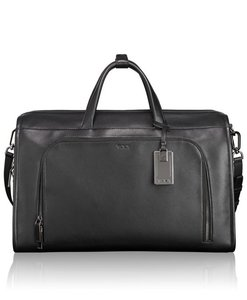 Tumi Carryall Weekender Carryon Black Travel Bag
