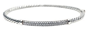 David Yurman 3mm Cable Pave Bracelet