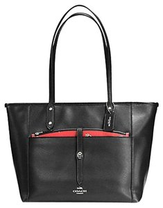 Coach Satchel F34103 36876 Tote in SILVER/WATERMELON