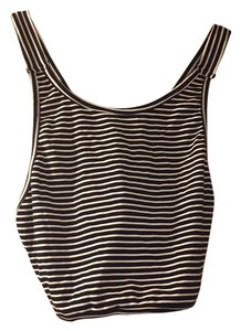Brandy Melville Melville Top Black and White