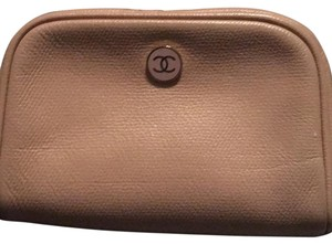 Chanel Wristlet in Nude
