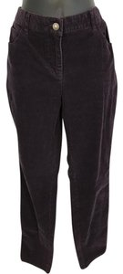 Boden Straight Pants dark purple