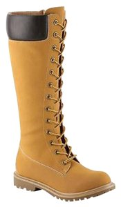 UNIONBAY Lace Up Yellow Mustard Boots
