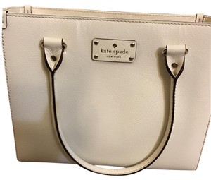 Kate Spade Satchel in Pearl White