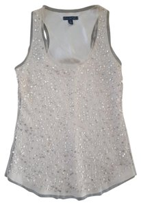 American Eagle Outfitters Sequin Tank Sequin Top Blush Pink