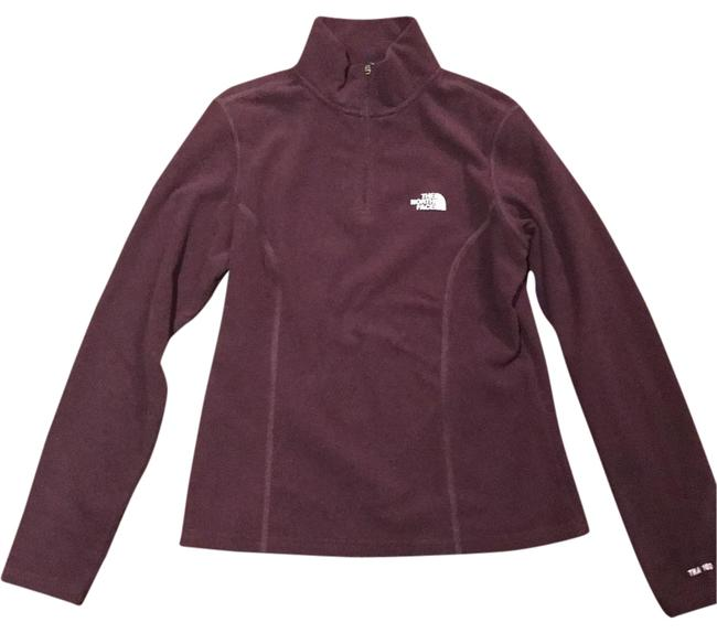 Item - Wine Quarter Zip Activewear Top Size 4 (S, 27)