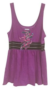 Free People Top Purple, Black, Pink, Green, Blue, White