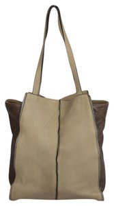 Kelsi Dagger Tote in Tan & Brown