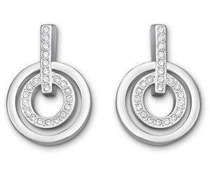 Swarovski Swarovski Circle Mini Pierced Earrings - 5007750