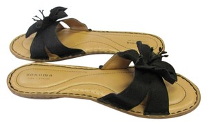 Sonoma Size 9.50 M Very Good Condition Black, Neutral Sandals