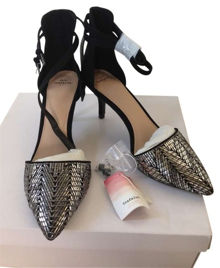 Preload https://item3.tradesy.com/images/zara-black-and-silver-pumps-size-us-65-202127-0-0.jpg?width=440&height=440