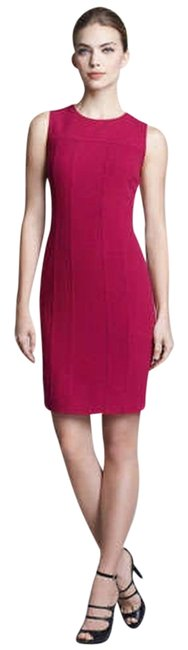 Preload https://item3.tradesy.com/images/armani-collezioni-raspberry-sleeveless-seam-detail-crepe-short-workoffice-dress-size-14-l-2021277-0-0.jpg?width=400&height=650