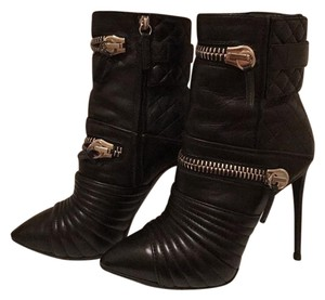 Giuseppe Zanotti Zipper Motorcycle Killer Black Boots