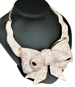 Kate Spade Kate Spade All Wrapped Up Bow Statement Necklace BRAND NEW