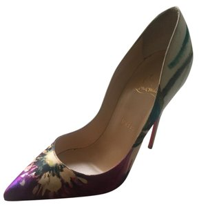 Christian Louboutin Floral Pumps