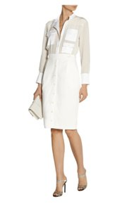 Altuzarra Cocktail Mid-length Fitted Blouse Dress
