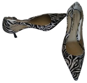 Ellen Tracy Black & White Pumps