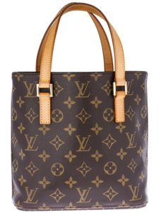 Louis Vuitton Satchel in Monogrammed Brown