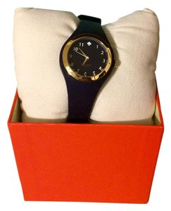 Kate Spade Kate Spade New York Rumsey Gold Tone and Indigo Watch