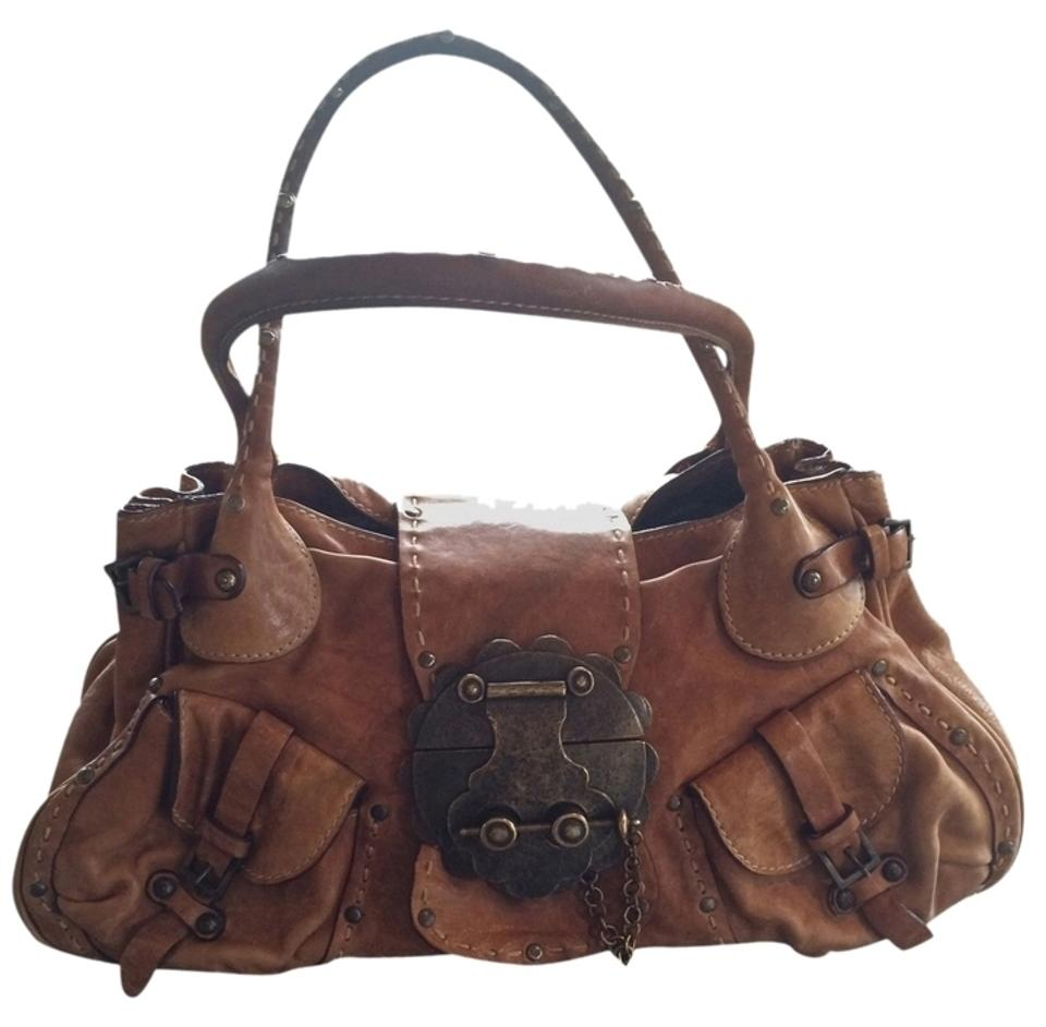 ceb799ab042c Magnificent Buckle Brown Leather Hobo Bag - Tradesy