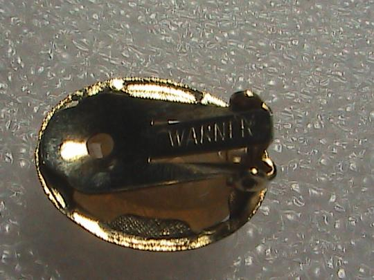 Warner Gold Filled Clip On Cameo Earrings Image 5