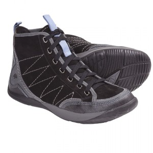Kalso Earth Black Leather Athletic