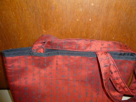 Sally Spicer Tote in Red and Black