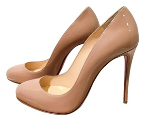 Christian Louboutin Size 37 Nude Beige Pumps