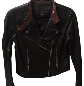 Paige Denim Leather Jacket