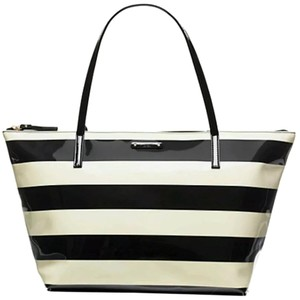 Kate Spade Tote in Black/Cream