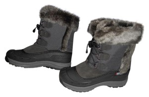 Baffin Waterproof Base Arch Support Water-resistant Made In Canada Grey Boots