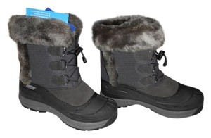 Baffin Waterproof Base Arch Support Water-resistant Made In Canada Charcoal Boots