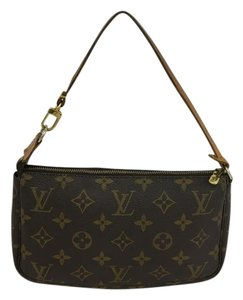 Louis Vuitton Lv Monogram Pochette brown Clutch