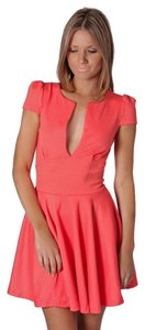 Esther.com.au short dress Coral/Peach Cocktail Coral Peach on Tradesy