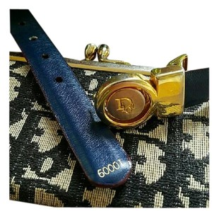 Dior FINAL SALE! VINTAGE CHRISTIAN DIOR REVERSIBLE LEATHER BELT