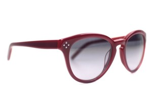 Chlo Red Round Sunglasses