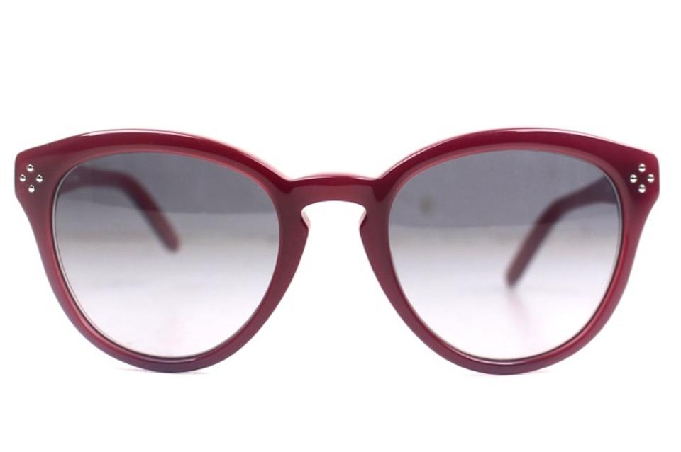 1764ced02fab Chloé Red Round Chloe Sunglasses CE630S Image 0 ...