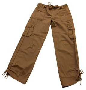 Ann Taylor LOFT Relaxed Pants Tan