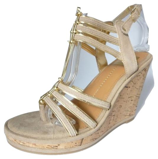Dolce Vita Leather Nude Suede Sandals