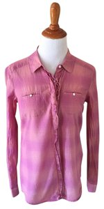 Eddie Bauer Button Down Shirt pink