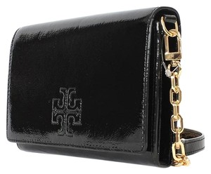 Tory burch charlie clutch crossbody Cross Body Bag