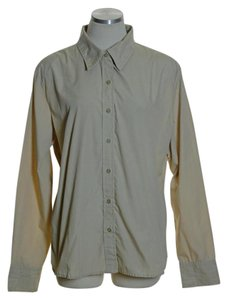 White Stag Button Down Shirt Beige