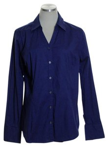 Merona Button Down Shirt Blue