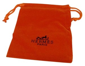 Hermès Hermes Pouch Hermes Dust Orange Travel Bag