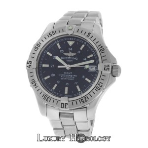Breitling Serviced Mint Midsize 38MM Breitling Colt A17350 Automatic