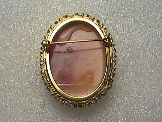 Vintage Gorgeous Cameo Brooch Image 2