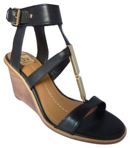 Dolce Vita Sandal Black Leather Sandals