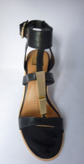 Dolce Vita Leather Black Leather Sandals