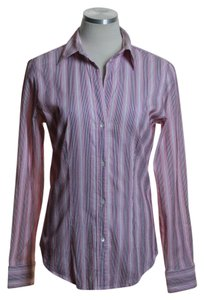The Limited Button Down Shirt Pink Multi